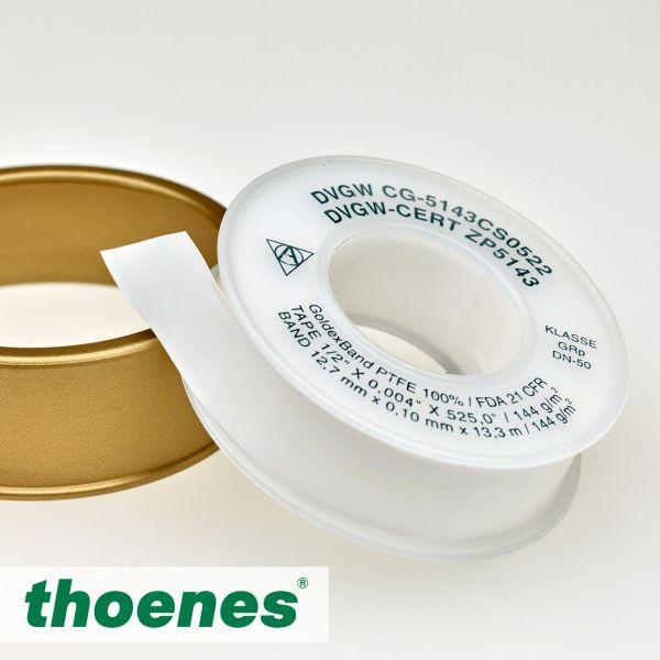 PTFE- Gewindedichtband GoldexBand