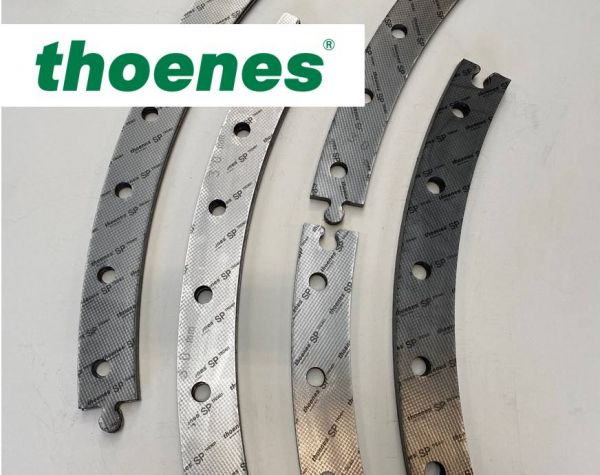 thoenes® flat gaskets with a puzzle connection
