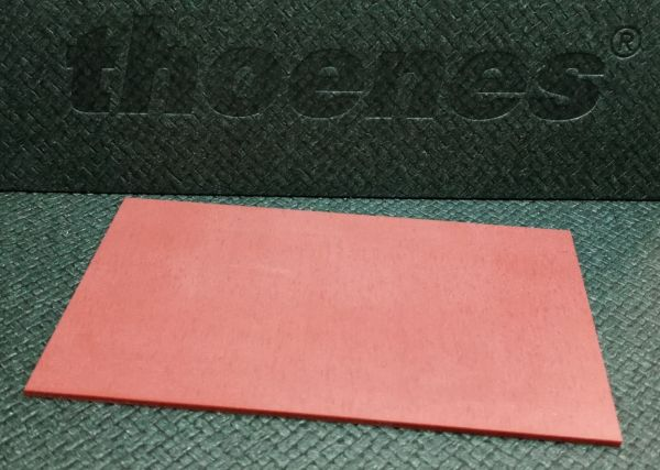 thoenes® Silikon rot Flachdichtungsmaterial