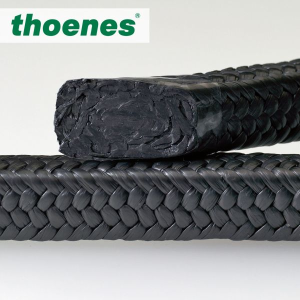 thoenes® P639 - PTFE-Grafit-Garn- Packung