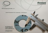 thoenes® Factory certificate