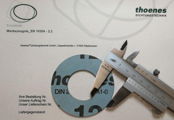 thoenes® Werkszeugnis 2.2