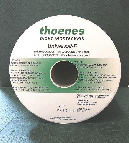 thoenes® ePTFE- Flachdichtungsbänder